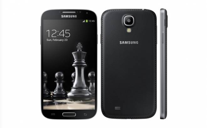 Представлен Samsung Galaxy S4 Black Edition