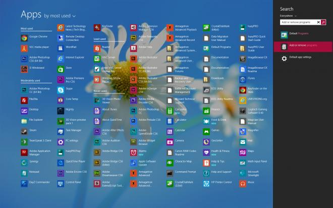 До 2015 года Windows 8 не получит меню
