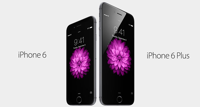 Apple представила iPhone 6 и iPhone 6 Plus