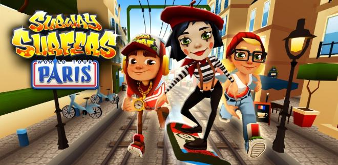 Subway Surfers вышла для WP 8